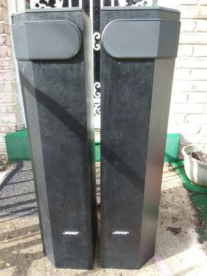 Bose 501 series V speakers and 525 Watts Dennon AVR 1506 receiver with remote control for Sale in Washington, DC