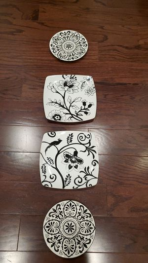Decorative Accent Plates (4) by Roscher & Co. for Sale in Garner, NC