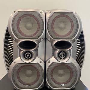 JVC SP-HXZ10 Hi-Fi Stereo Speakers for Sale in Newark, NJ