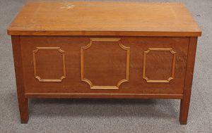 Vintage Solid Oak Credenza Filing Cabinet for Sale in Burlington, NC