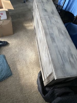 Solid wood footboard or chest for Sale in Cantonment, FL
