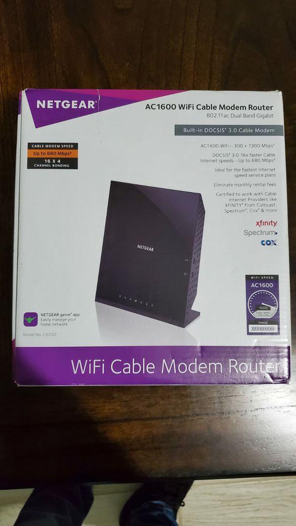 Netgear modem router ac1600