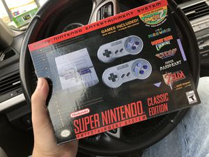 Super Nintendo classic snes for Sale in New York, NY