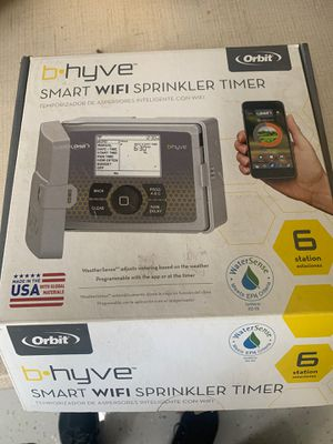 Orbit 6 station / zone SMART WIFI sprinkler timer brand new for Sale in Tamarac, FL