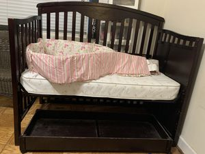 Baby crib - Remove and fix with bed for Sale in Arlington, VA