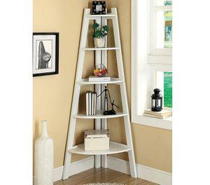 Corner Ladder Shelf in White for Sale in Diamond Bar, CA