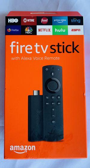 Amazon Fire Tv Stick with Alexa Voice Remote (2nd Gen) (New) for Sale in Corona, CA