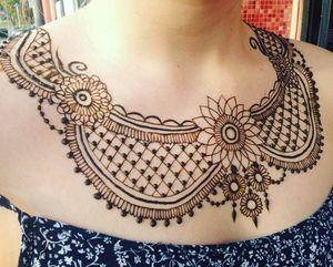 Neck henna design for Sale in Oakland, CA