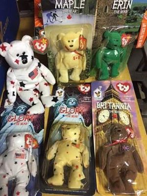 Rare beanie babies for Sale in St. Augustine, FL