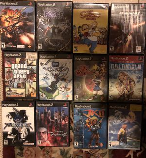 Ps2 games for Sale in Jurupa Valley, CA