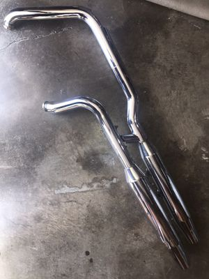 2000 & Up Harley Davidson Chrome Softail Deuce FXSTD Exhaust System 65094-00 / 65890-00 for Sale in Knoxville, TN