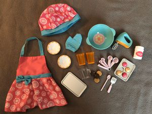 """Our Generation Baking Accessories 18"""" Doll for Sale in Inwood, WV"""