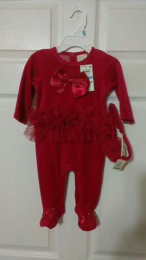 Brand new with tags, 2 pc item coverall size 3-6 months for Sale in Palm Springs, FL