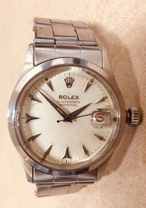 Rolex 6518 Oysterdate Perpetual rare 34mm vintage watch for Sale in Rockville, MD