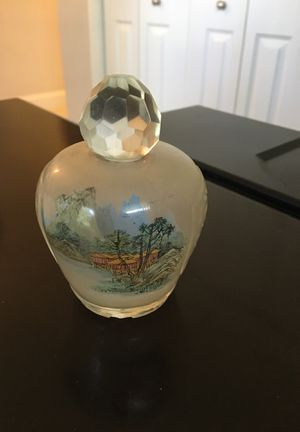 Antique Chinese Reverse Painted Perfume Bottle for Sale in North Palm Beach, FL