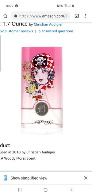 Ed Hardy Born wild perfume 1.7 oz. (50ml) bottle for Sale in Lexington, KY