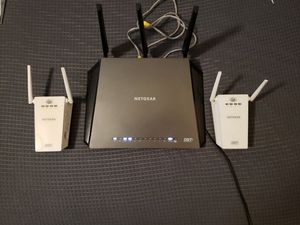 NETGEAR - Nighthawk DST AC1900 (R7300DST) Wireless-AC Gigabit Router with DST Adapter for Sale in Las Vegas, NV