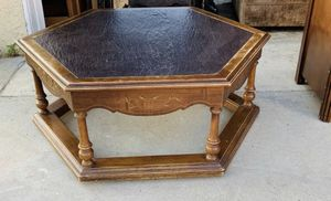 Beautiful Antique Granite top coffee table for Sale in Downey, CA
