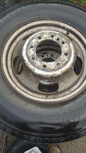 Dodge Ram 3500 dually rims tires wheels 17 inch for Sale in Bonney Lake, WA