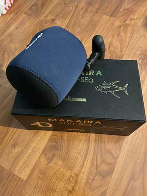 Okuma Makaira 20II-SEa 2 speed reel for Sale in Corona, CA