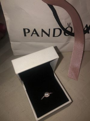 """Pandora promise ring """"classic elegance"""" size 5 for Sale in Santa Ana, CA"""