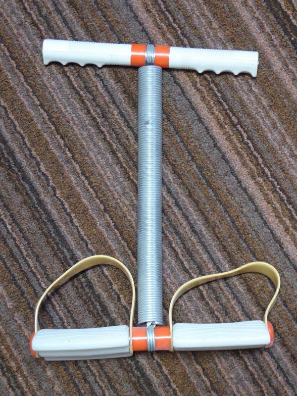 Vintage Pull Up Exercise Equipment Spring Exerciser