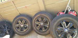"F150 17"" rims with black hubcaps. for Sale in Garden Grove, CA"