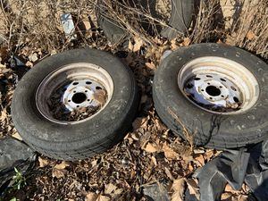 Tire and wheels for trailer for Sale in Brentwood, CA