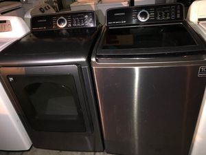 SAMSUNG TOP LOAD WASHER AND GAS DRYER for Sale in San Clemente, CA