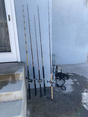 Penn fishing rods and reels for Sale in Los Angeles, CA