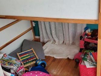 IKEA reversible Bunk Bed & Like New Mattress for Sale in Spring Valley,  CA