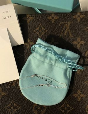 Tiffany & co Elsa Peretti Diamonds by the yard bracelet New! for Sale in Clackamas, OR