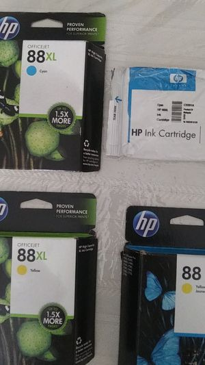 Ink cartridges HP 88 / 88XL for Sale in Chula Vista, CA