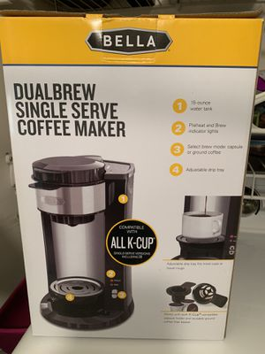 Bella Brew Single Serve Coffee Maker K-Cup NEW for Sale in Lawrenceville, GA