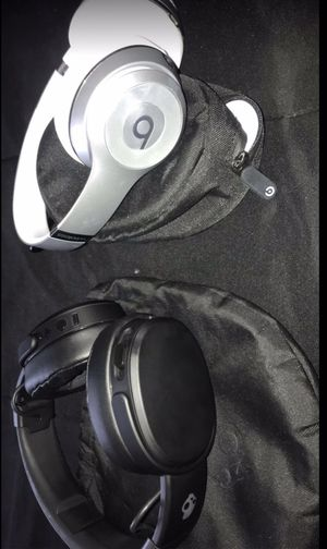Beats by Dr. Dre Solo3 Wireless and SkullCandy Crusher Wireless bass Headphones for Sale in Longmont, CO