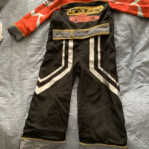 Reversible Disney Cars costume size 4 like New! $15 for Sale in Los Angeles, CA