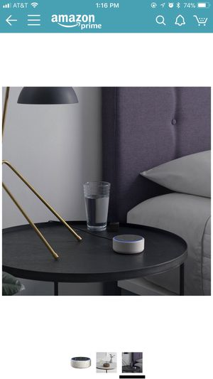 Echo dot 2nd generation with fabric case for Sale in Portland, OR