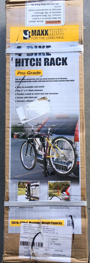 New Hitch Mount 4 Bike Carrier for Sale in Reno, NV