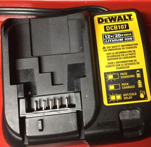 Dewalt charger and two batteries for Sale in US