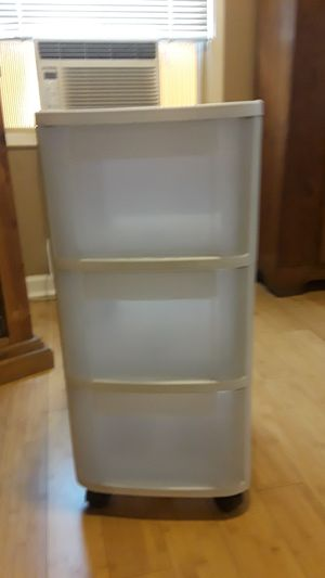 Plastic drawers holder for Sale in Long Beach, CA
