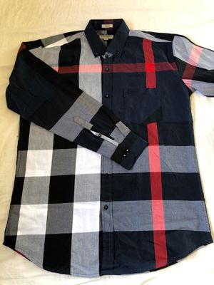 Burberry men's shirt size XL for Sale in Whittier, CA