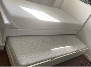 Bed with Frame and good mattress in good condition twin bed for Sale in Sunnyvale, CA