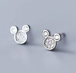 NWT*Tiny Crystal Mickey Mouse Earrings for Sale in Wichita, KS