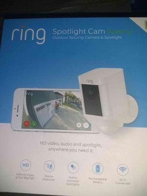 Ring spotlight cam battery for Sale in Riverside, CA