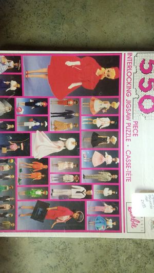 Nostalgic Barbie Jigsaw Puzzle for Sale in Chesterfield, VA