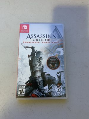 Nintendo switch assassins creed 3 for Sale in San Diego, CA