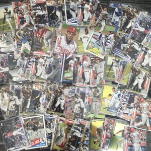 2020 Topps Update 60+ Baseball Card lot Mike Trout, Aaron Judge, Griffey Jr And More! for Sale in Colorado Springs, CO