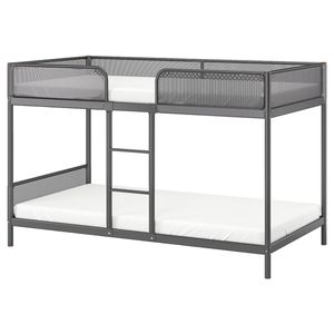 Bunk bed frame, dark gray, Twin for Sale in Fremont, CA