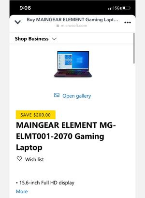 Game Computer Laptop for Sale in Compton, CA