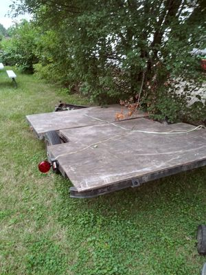 6 1/2Ft. × 9Ft utility trailer for Sale in Harper Woods, MI